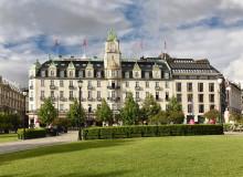 Fredrikke Næss forlater Grand Hotel Oslo by Scandic