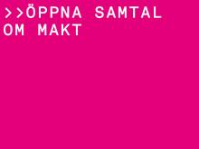 """""""ÖPPNA SAMTAL OM MAKT"""" - POPULÄRVETENSKAPLIGT PANELSAMTAL 27/8"""