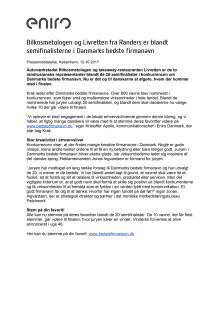 Bilkosmetologen og Livretten fra Randers er blandt semifinalisterne i Danmarks bedste firmanavn