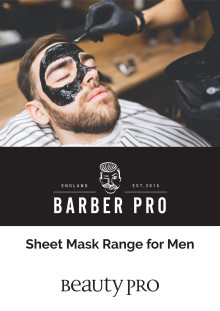 Barber Pro Sheet Mask Range