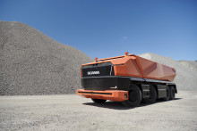 Et nyt selvkørende koncept - Scania AXL