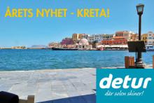 Kreta - årets nyhet med Detur är redan en klassiker!