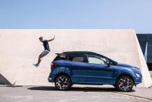 Nya Ford EcoSport SUV ger stora valmöjligheter
