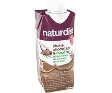 Naturdiets sortiment av drickfärdiga shakes utökas nu med ytterligare en god smaknyhet!