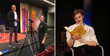 Stadsbiblioteket streamar författarsamtal