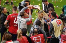 FC Bayern feiert Meisterschaft mit Paulaner