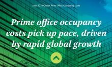 Vilka är kontorsmarknaderna med snabbast ökande hyror? Och hur rankas Stockholm?