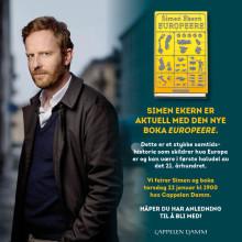 Simen Ekern med ny bok om krisen som har rammet Europa