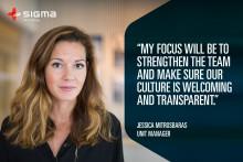 Jessica Mitrosbaras blir ny enhetschef på Sigma Technology