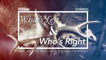 What's Left & Who's Right? – Timbro & Tiden i tuffa idédebatter inför valet