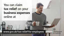 Go direct to get tax relief on work expenses