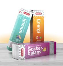 Välj Immun, Sockerbalans eller Energi: Friggs släpper tre nya vitaminbrus med funktion
