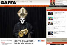 Into the Valley hedras med specialpris av musiktidningen Gaffa
