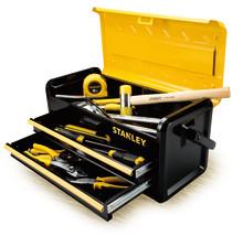 STANLEY® Lança uma nova gama de caixas de ferramentas de metal de 48 centímetros