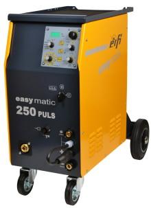 Stänkfri svetsning med Erfi MIG 250 puls - hos Verktygsboden