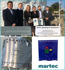 MARTEC modtager Byfondens plakette 2016