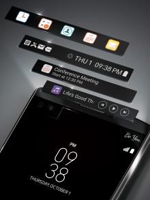 LG:S SMARTPHONE V10 MED SECOND SCREEN KOMMER TILL SVERIGE TIDIGT 2016