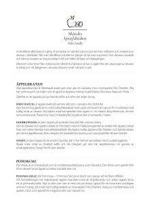 Information om Skånska Spritfabriken och dess produkter samt GT recept