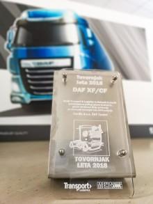 Uudet DAF CF ja XF: Slovenian vuoden kuorma-auto 2018