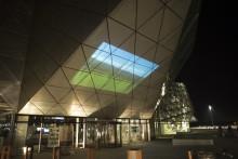 60SECONDS 2020 / Film på facaden af Kulturværftet i vinterferien
