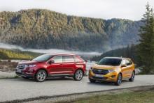Luksus-SUV fra Ford: Edge er den nye topmodel til kræsne europæiske kunder