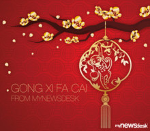 Gong Xi Fa Cai from Mynewsdesk!