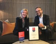 Selvaag Eiendom er igjen Great Place To Work-sertifisert