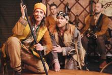 Västanå teater på turné i Dalarna med samisk familjeföreställning