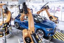 Audi startar upp tillverkningen igen