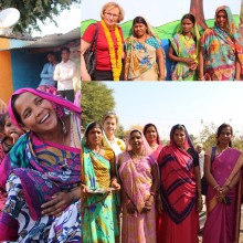 Womens Health Movement India  – uppmärksammas genom indisk salong