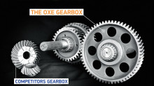 ​The OXE Diesel - Heavy duty designed gearbox