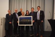 Bergen lufthavn Flesland er tildelt Eiendomsprisen 2018