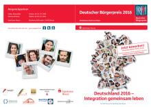 Brochüre zum Deutschen Bürgerpreis 2016