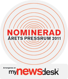 Saint-Gobain Abrasives nomineret til Årets Presserum 2011