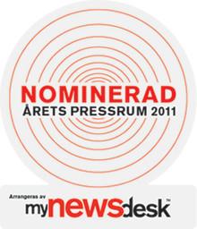 Saint-Gobain Abrasives nominert til  Årets Presserom 2011
