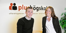 Plushögskolan på mässan Kunskap & Framtid i Göteborg