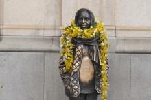 Kvinnokampanj drog in 115 495 kr till kvinnlig staty!