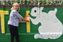 Southern unveils new community mural at Thornton Heath