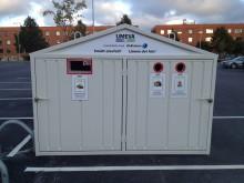 Lättare att lämna elavfall till återvinning på Mariehem och Ålidhem - ELIS har kommit till Mariehems centrum och Ålidhems centrum