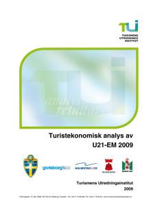 Huvudrapport: Turistekonomisk analys av U21-EM i fotboll 2009