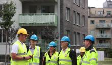 Bostadsministern besökte JM i Kviberg