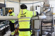Vakin bjuder in till pressträff vid Täfteå avloppsreningsverk