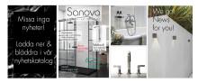 Badrummet hemmets viktigaste oas! Nyheter från Sanova.