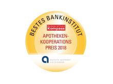 """Coop-Study 2018: """"Bestes Bankinstitut"""""""