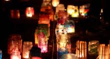 Tusentals ljus för barnets rättigheter