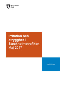 Rapport: Irritation och otrygghet i stockholmstrafiken