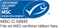 Hallands första MSC-certifierade fiskdisk finns hos Korshags i Falkenberg