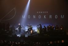 "Proyektor Epson Mewarnai Penampilan Tulus pada  Konser ""Monokrom"""
