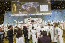 Grattis Tommy - guldyra på Stockholmsmässan