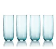 Himmelblå drikkeglas